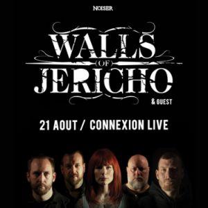 Noiser Présente : Walls Of Jericho  | Connexion Live, Toulouse