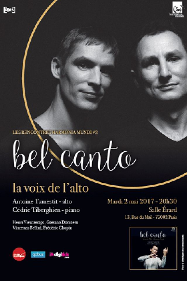 Concert LES RENCONTRES #2 HARMONIA MUNDI à PARIS @ Salle Erard - Billets & Places