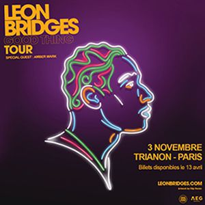 Concert LEON BRIDGES à Paris @ Le Trianon - Billets & Places