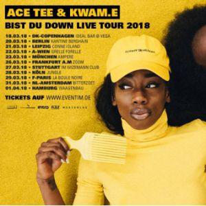 ACE TEE & KWAM.E @ La Boule Noire - PARIS