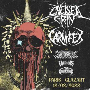 Chelsea Grin, Carnifex, Lorna Shore + Guests @ Gazart (Paris)
