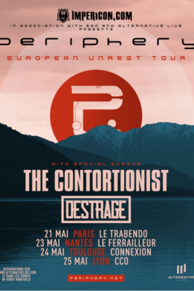 Concert PERIPHERY + THE CONTORTIONIST