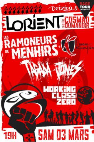 Concert RAMONEURS DE MENHIRS - TAGADA JONES