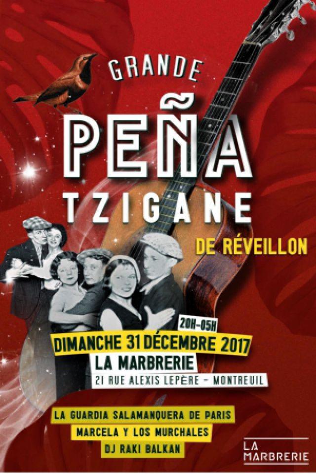 Peña Tzigane de Réveillon @ La Marbrerie - MONTREUIL