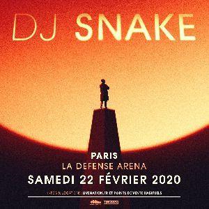 Pack Bus Dj Snake - Départ Grenoble