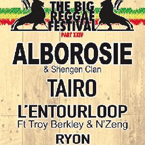 Alborosie + Tairo + L'entourloop + Ryon