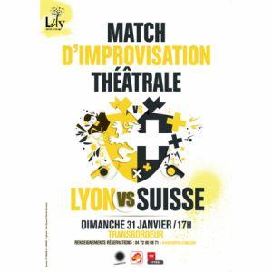 Match D'improvisation Lyon Vs Suisse