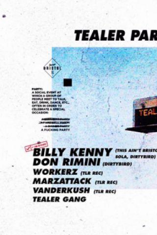 Soirée Tealer : Billy Kenny, Don Rimini, Workerz, Marzattack,Tealer Gang à PARIS @ Wanderlust - Billets & Places