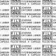 Concert X-Mas of Vénus x Capsule: Oktober Lieber, Joanna, Mauvais Oeil à PARIS @ Badaboum - Billets & Places