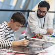 """Atelier """"VICE VERSA"""" WORKSHOP FOR FAMILIES WITH CHILDREN AGES 6 TO 10"""