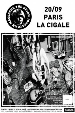 Concert BRIAN JONESTOWN MASSACRE à Paris @ La Cigale - Billets & Places