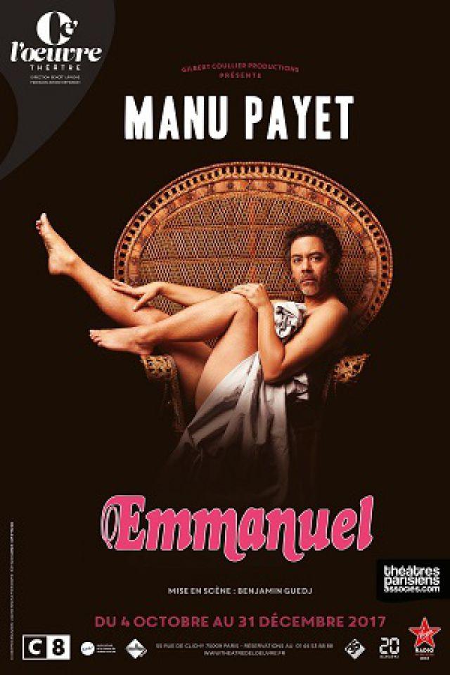 MANU PAYET @ THEATRE DE L'OEUVRE - PARIS