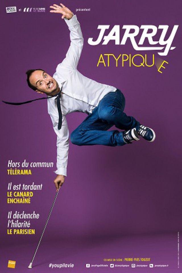 JARRY « Atypique» @ Théâtre Galli - SANARY SUR MER