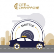 Visite 02:00pm TOUR (English) + Return Shuttle Service From EPERNAY