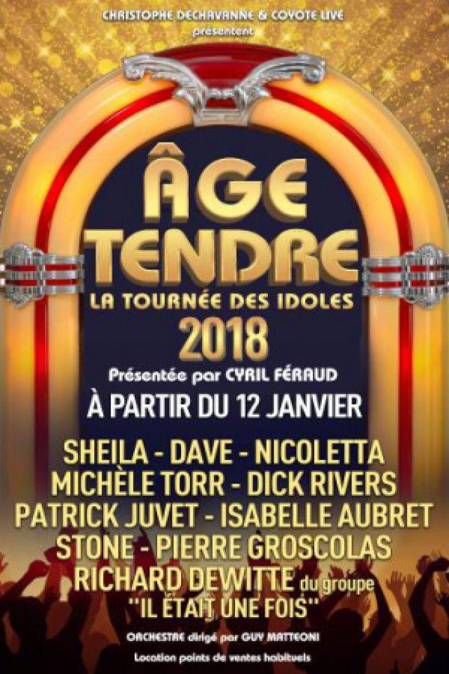 AGE TENDRE - La Tournée des Idoles 2018 @ Galaxie - AMNÉVILLE