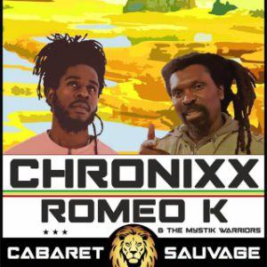 Reggae Roots CHRONIXX  et ROMEO K & The Mystik Warriors @ Cabaret Sauvage - Paris