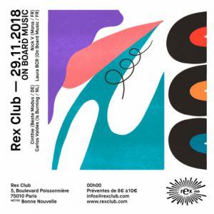 ON BOARD MUSIC @ Le Rex Club - PARIS