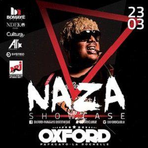 NAZA SHOWCASE OXFORD  @ OXFORD CLUB - LA ROCHELLE