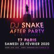 Soirée DJ SNAKE AFTER PARTY à PARIS @ T7 - Billets & Places