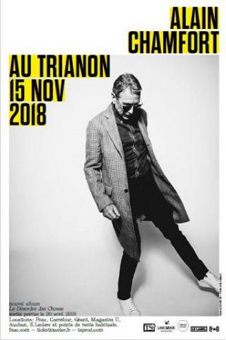 Billets ALAIN CHAMFORT - Le Trianon