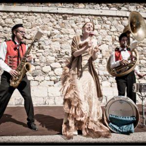 Ginger Brass Experiment Présenté Par Ils Scènent & Les Symphonies