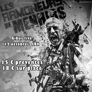 Les ramoneurs de menhirs @ Gibus Live - PARIS