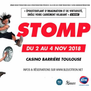 STOMP @ Casino Barrière Toulouse - Toulouse