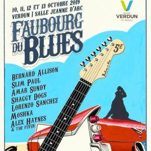 Faubourg Du Blues # 5 - Vendredi 11 Octobre 2019