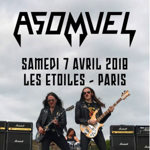 ASOMVEL @ THEATRE LES ETOILES - Paris