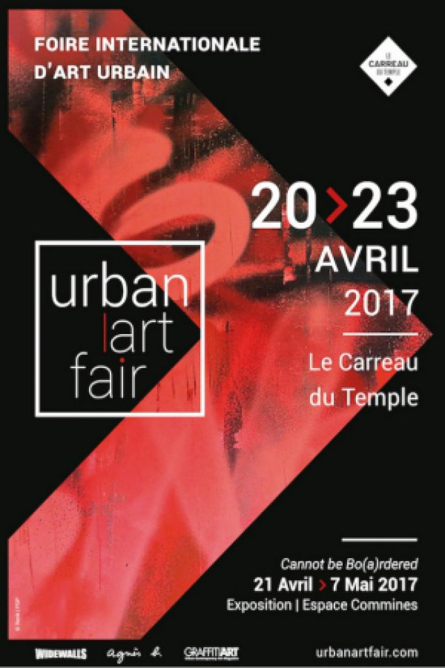 Salon Urban Art Fair - Visite guidée Vendredi 21 avril 2017