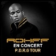 Concert ROHFF  -  PDRG Tour  à Paris @ Zénith Paris La Villette - Billets & Places