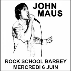John Maus + invité @ Rock School Barbey  - BORDEAUX