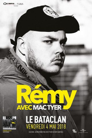 Concert REMY à PARIS @ LE BATACLAN - Billets & Places