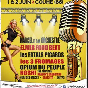 LA VOIX DU ROCK - Pass 2 Jours @ Abbaye de Valence - COUHÉ