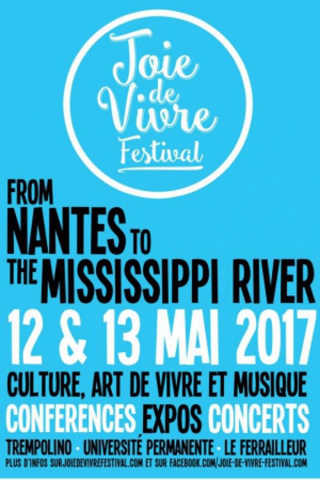 Concert JOIE DE VIVRE FESTIVAL à Nantes @ Le Ferrailleur - Billets & Places