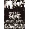 Concert GET THE SHOT + BRUTALITY WILL PREVAIL + WOLFPACK