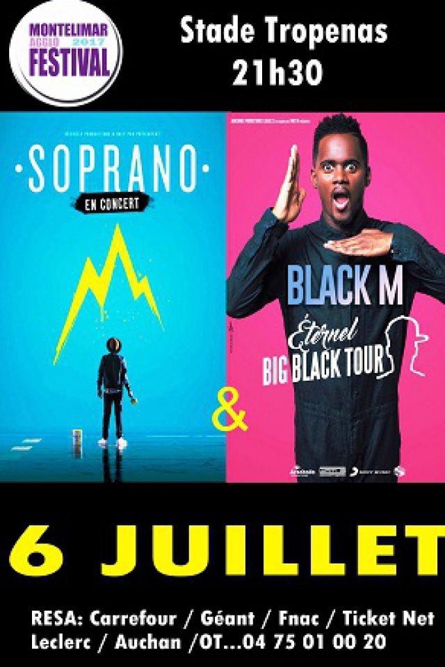 SOPRANO / BLACK M @ Stade Tropenas - MONTÉLIMAR