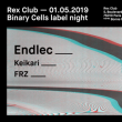Soirée BINARY CELLS LABEL NIGHT