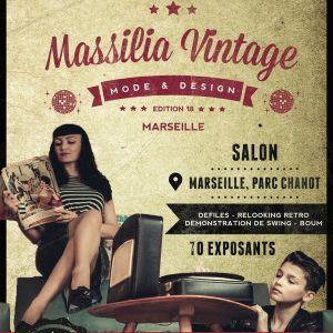 Massilia Vintage - Pass 1 jour  @ PARC CHANOT - Hall 3 - MARSEILLE