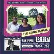 Concert The Como Mamas à PARIS @ LE PAN PIPER - Billets & Places