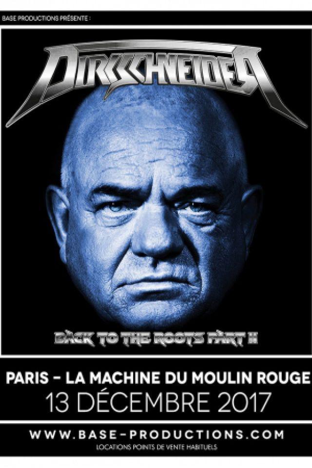 DIRKSCHNEIDER + RAVEN @ La Machine du Moulin Rouge - Paris