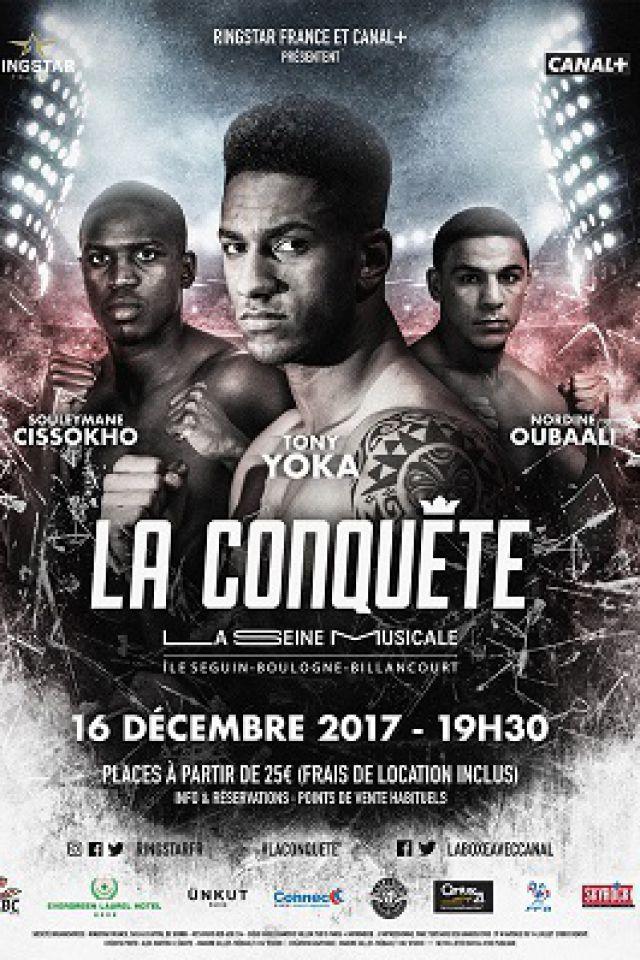 LA CONQUETE, TONY YOKA - ROUND 3 @ Grande Seine - La Seine Musicale - BOULOGNE BILLANCOURT