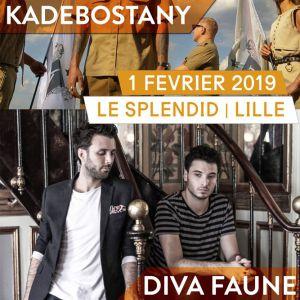 Kadebostany + Diva Faune @ Le Splendid - Lille