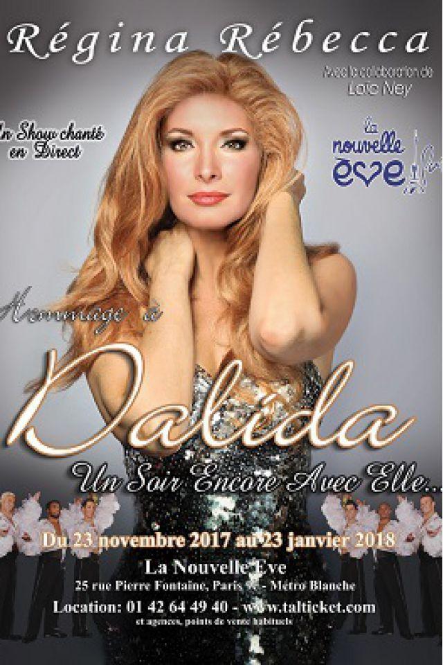 Un soir encore avec elle - Hommage à Dalida @ La Nouvelle Eve - Paris