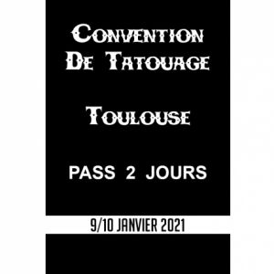 Convention De Tatouage Pass 2 Jours