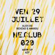 Soirée ME.CLUB.020 à PARIS @ Le Rex Club - Billets & Places