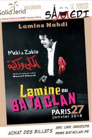 Spectacle LAMINE NAHDI à PARIS @ LE BATACLAN - Billets & Places