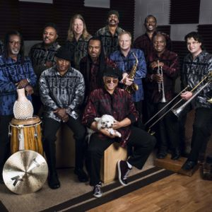 EARTH WIND & FIRE EXPERIENCE Feat Al McKAY Allstars @ Les Bourdaines - Seignosse le Penon
