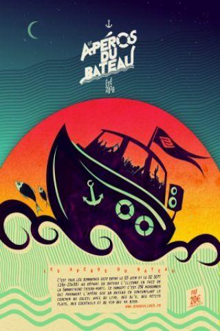 Soirée Les Apéros du bateau opening 3 juin Ill Spokin (US)  DJ Zajazza à MARSEILLE @ Bateau l'Ilienne - Billets & Places