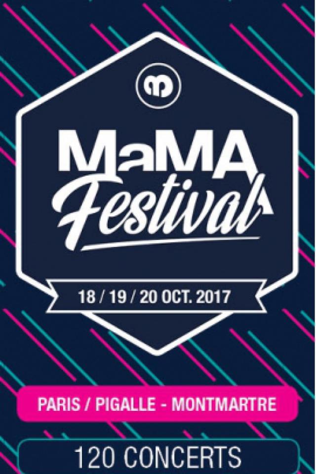 MaMA Festival - Pass VENDREDI @ Pigalle-Montmartre - PARIS